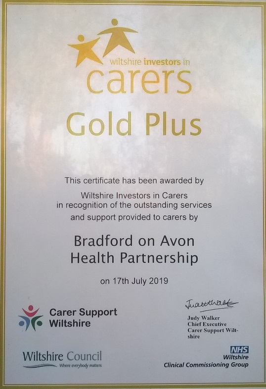 Carers Gold Plus